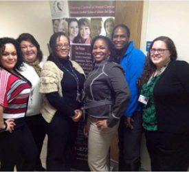 Working in the Community to Reduce Health Disparities